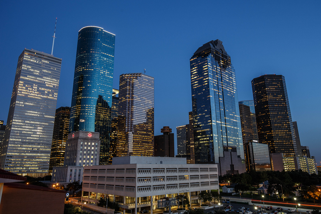 Houston Landscape photo.